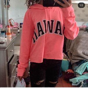 Really cute Hawaii pink sweater